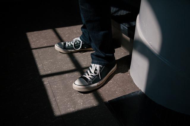 靴,クリーニング,釜石市