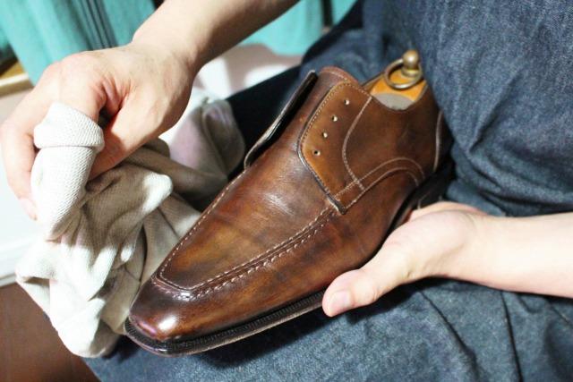 靴磨き 期間